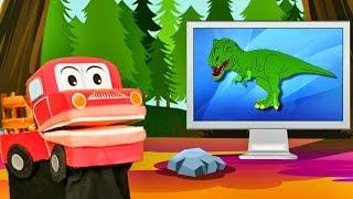 Los Dinosaurios Mas Famosos para Niños - Videos Educativos - Barney El Camión