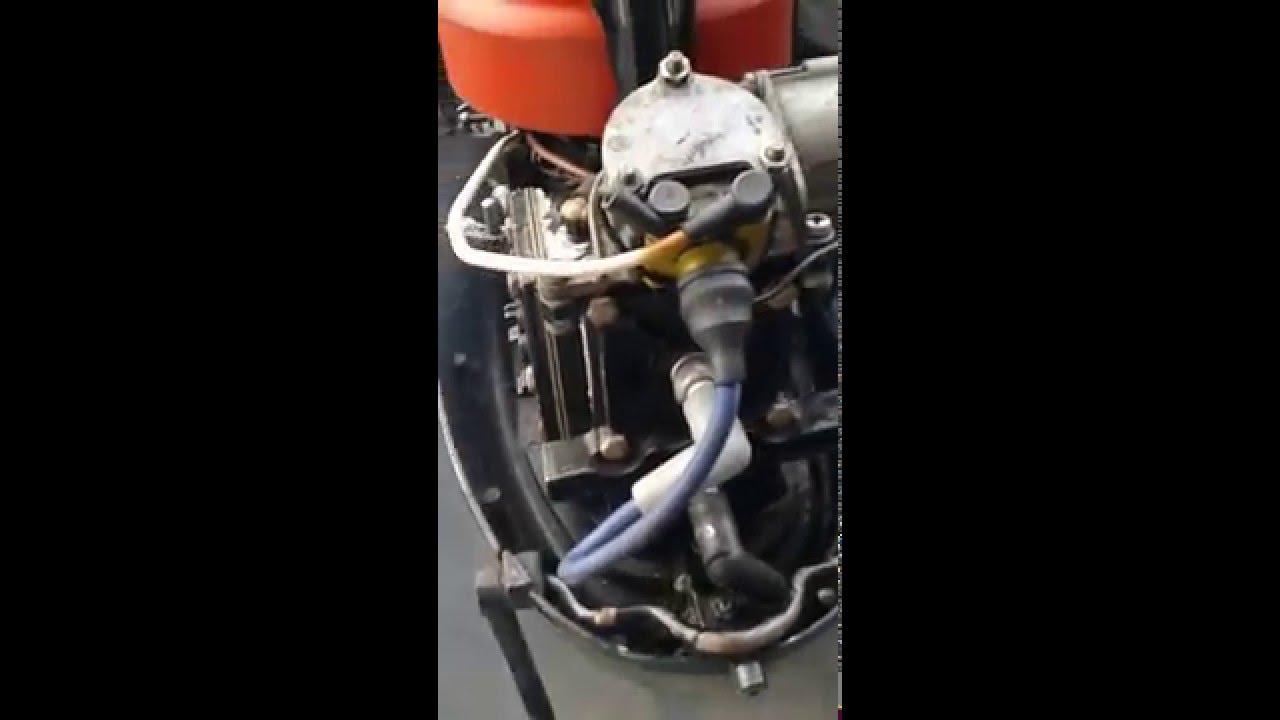 medium resolution of 1971 mercury 7 5 hp 2 stroke outboard boat motor engine