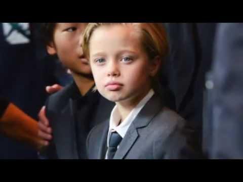 Дети Анджелины Джоли и Брэда Питта - цветные и геи