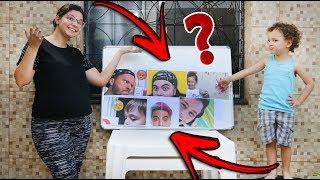Desafio super divertido: QUEM É O YOUTUBER???