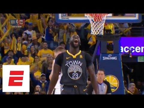 Draymond Green Gets FLAGRANT 1, Then Celebrates When Free Throw is Missed (VIDEO)