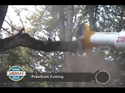 Mini-Jarraff Tree Cutting Backyard Maneuvering Demo