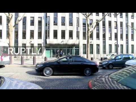 LIVE from Paris after letter bomb explosion at IMF offices injures one