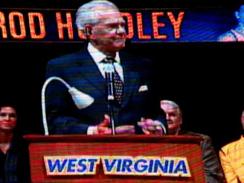 Hot Rod Hundley WVU retires #33