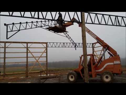 How to Build a Big Pole Barn