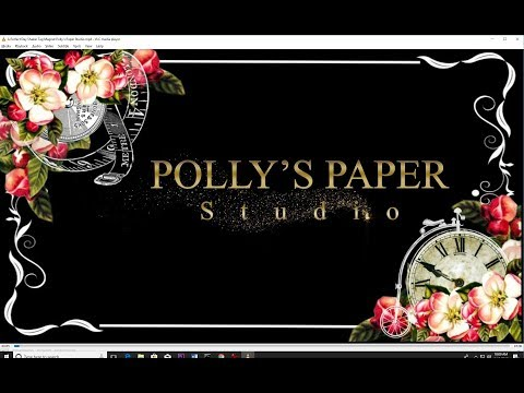 Vintage Crepe  Fringe Tutorial Polly's Paper Studio Process DIY Scrap Your Stash Easy Craft