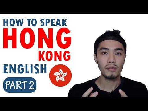 Speak English in Hong Kong Accent Part 2
