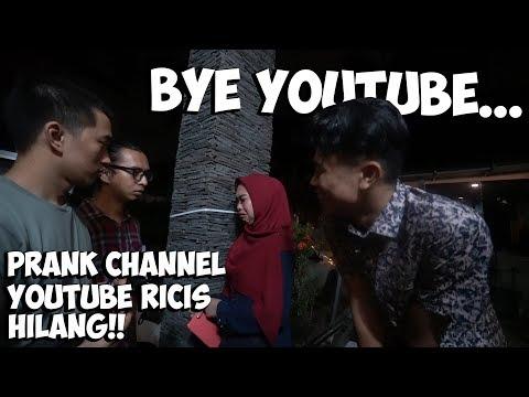 Prank Channel Youtube Ricis Dibanned! Bye Gak Ngeyoutube Lagi😭