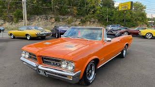 Test Drive 1964 Pontiac Tempest Convertible $25,900 Maple Motors #1276