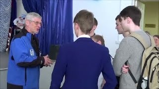 Встреча режиссёра - путешественника Владимира Зайцева со зрителями