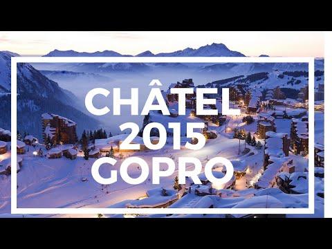 GoPro Hero 4 Ski Vacation Châtel 2015 [Official 4K]
