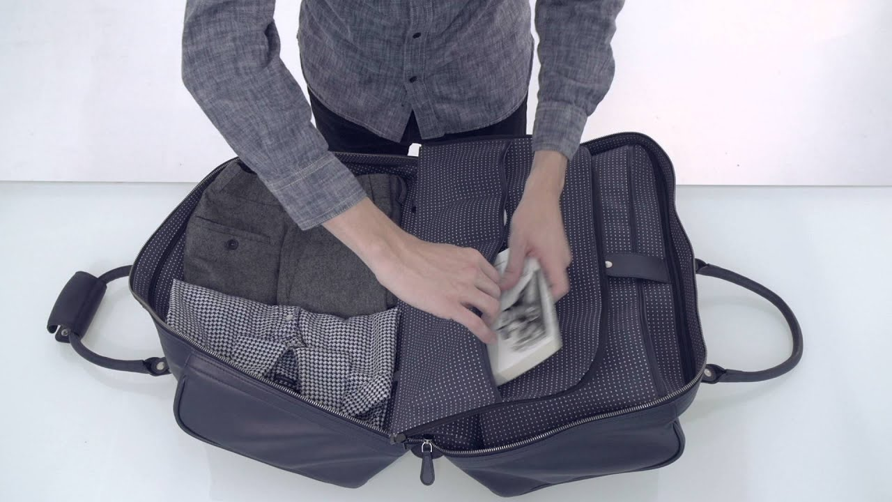 The World S First Duffle Suitcase