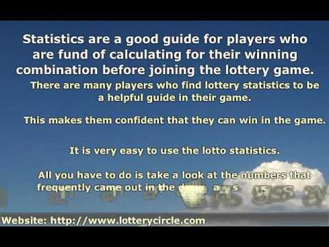 statistical chances of winning the lottery