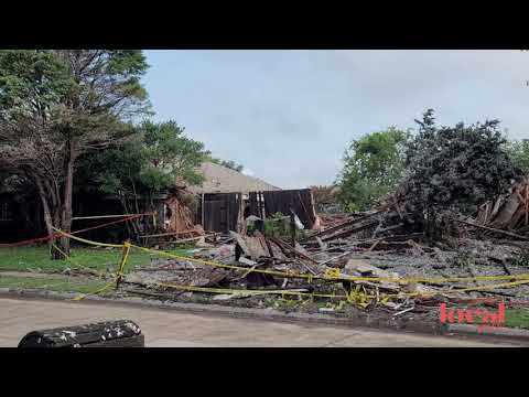 plano home explosion site | july 20, 2021