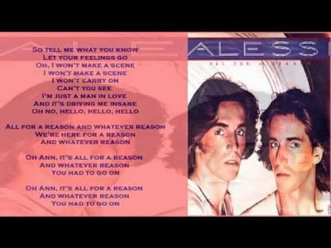 Alessi Brothers - All For A Reason (+ lyrics 1977)