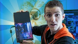 The SMALLEST Hardline Liquid Cooled System!