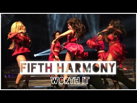 Fifth Harmony - 'Worth It' Live in Manchester, UK