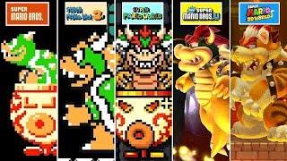 Super Mario Maker 2 - All Bosses