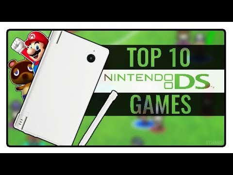 My Top 10 Nintendo Ds Games Of All Time Youtube