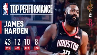 James Harden Records HISTORIC 40-Point Triple-Double | January 11, 2019