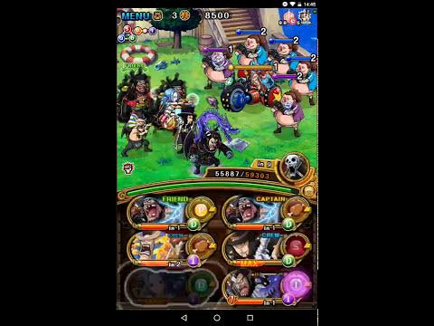 [OPTC] [Global] Double Blackbeard vs Blitz Battle! Straw Hat Pirates! - Luffy (50 Stam)