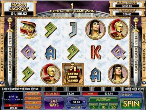 Caesars Treasure Slot (NuWorks)