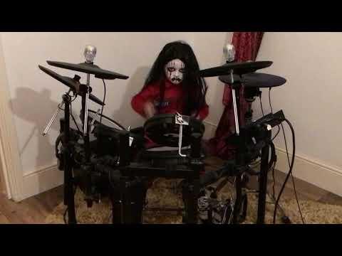 Slipknot Before I Forget- Drum Cover. Caleb H Drummer (age 5) Caleb As Mini Joey Jordison 🤘🏼🥁