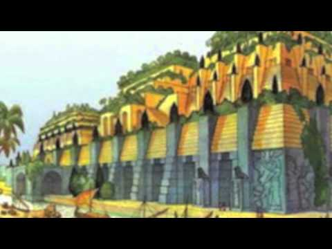 Jardines colgantes babilonia youtube for Los jardines colgantes de babilonia
