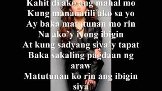 Mahal ko o Mahal ako - KZ Tandingan with Lyrics