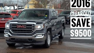 Todd Williams GM 2016 Clear out at Pye Chevrolet