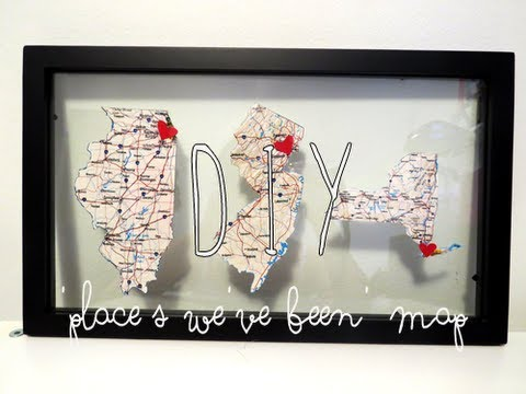 DIY Memorable Travel Maps