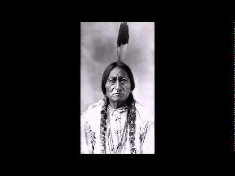 IN DEUTSCH GESPROCHENE Rede Häuptlings Chief Seattle 1855 vor dem amerikanischen Kongress.