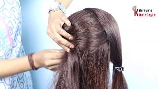 New beauiful Juda Hairstyle For Wedding   