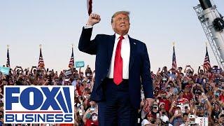 Trump speaks at a 'Make America Great Again' rally in Tucson, AZ