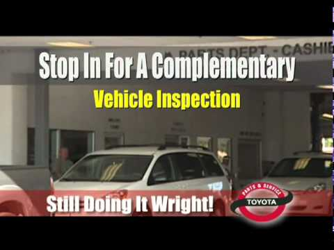 Bill Wright Toyota Parts And Service Commercial - Sept2010