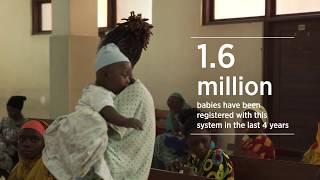 Mobile Birth Registration in Tanzania