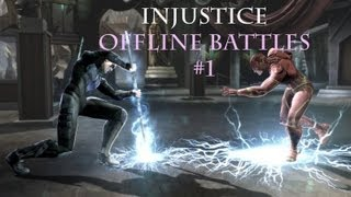 Injustice: Gods among us - Offline Battles #1