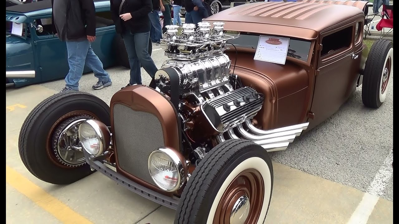 29 Ford Traditional Hot Rod Goodguy\'s Nashville Nationals 2014 - YouTube