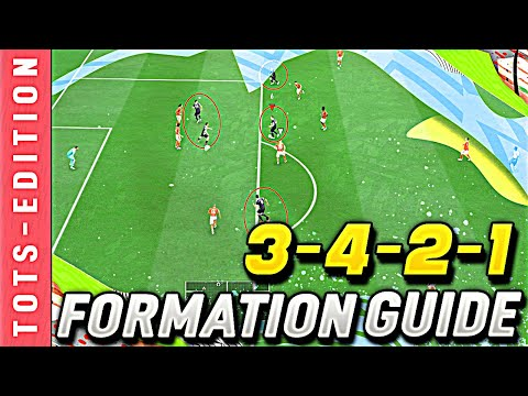 FIFA 20 | 3-4-2-1 Most ATTACKING Custom Tactics/Instructions! | HOW TO USE 3421