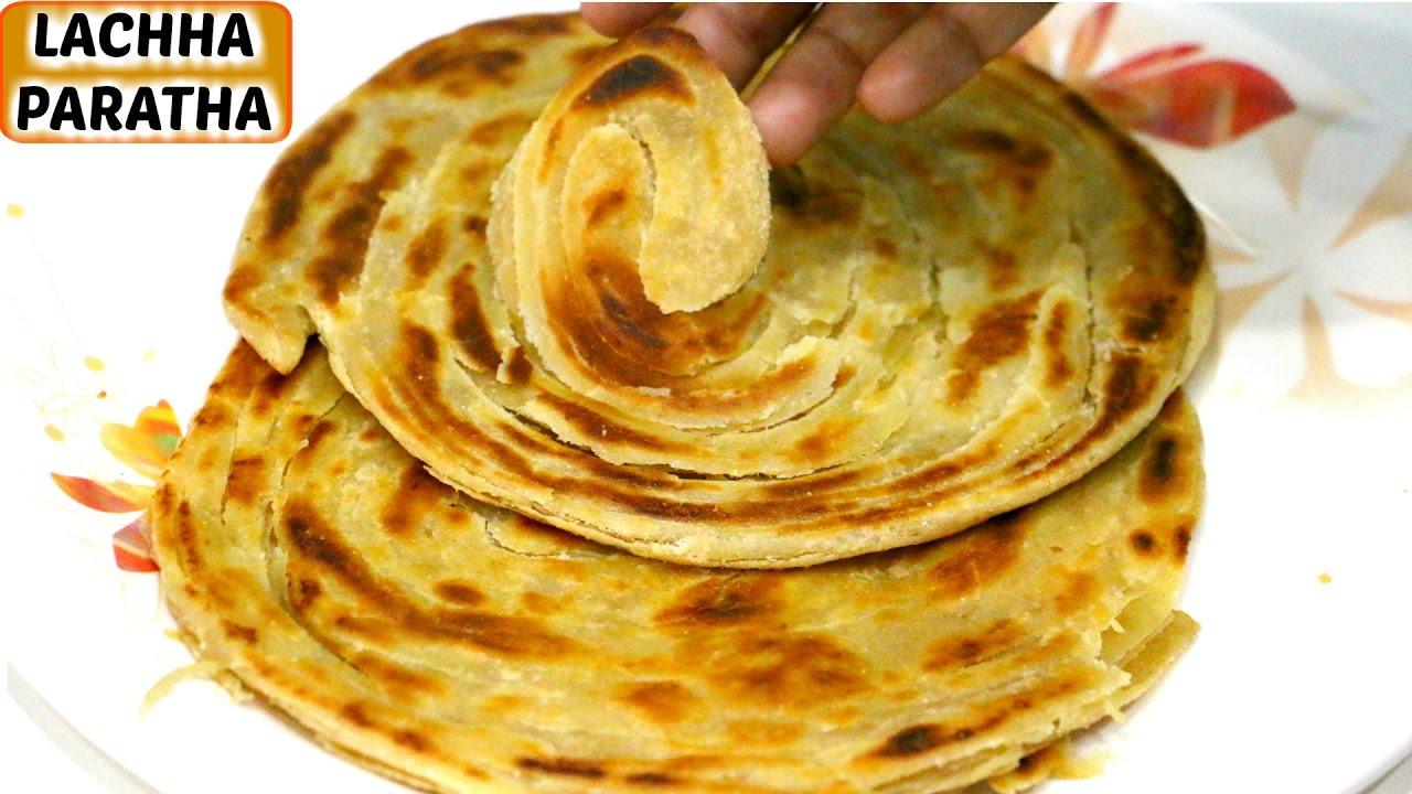 how to make lachha paratha ��������� ���������� ���������� ��������