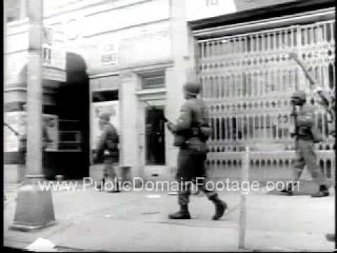 Newark New Jersey Civil Right Riots July 1967 www.PublicDomainFootage.com