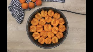 Apricot Tarte Tatin: making it has never been this easy!