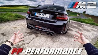 BMW M2 PP Performance 450 HP REVIEW POV Test Drive by AutoTopNL