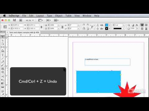 how to add crop marks to an object in indesign