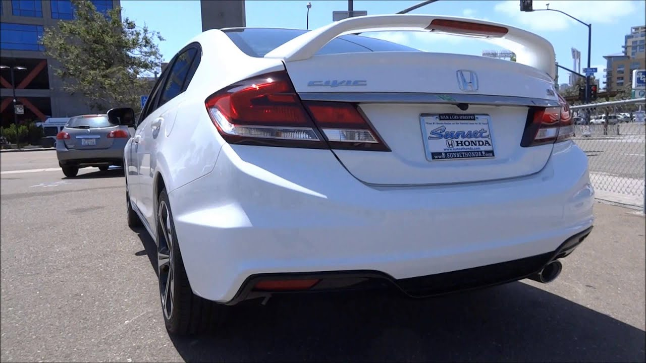 2014 Honda Civic Si Sedan  Drive  YouTube