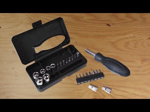 Promotional Portable 24 Piece Tool Set (# 26335) - Features & Usage