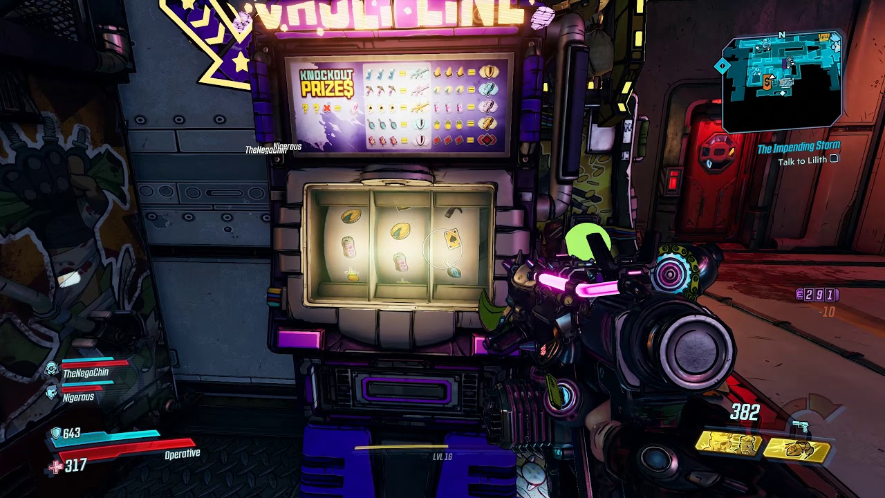 Borderlands 3 Eridium Slot Machine