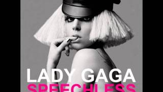 Lady Gaga - Speechless Official instrumental With Backing Vocals
