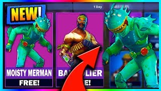 "FREE NEW ""Moisty Merman"" SKIN in FORTNITE! NEW Skins for FREE! Pro Player (Fortnite Battle Royale)"