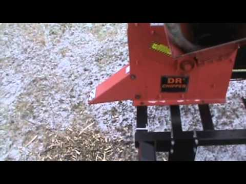Dr Chipper CH163 Portable Wood Chipper 16HP Vanguard Trailer Mounted For Sale